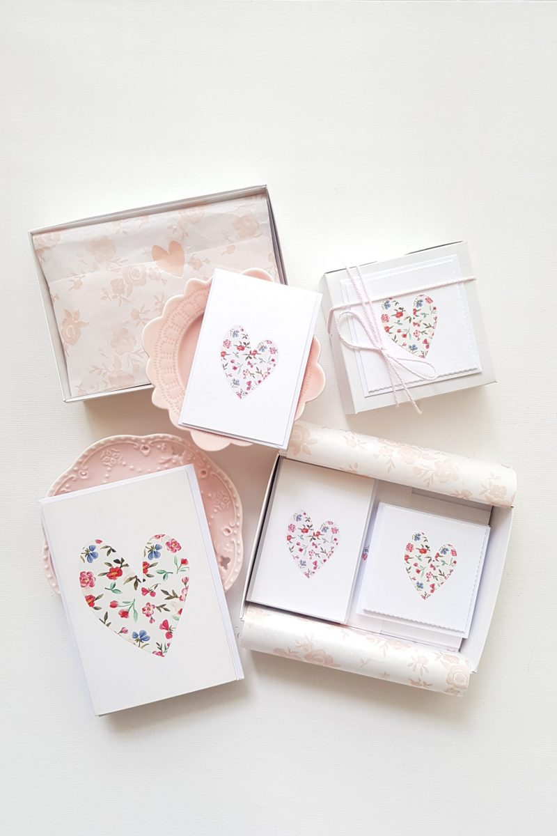 Floral Hearts Box