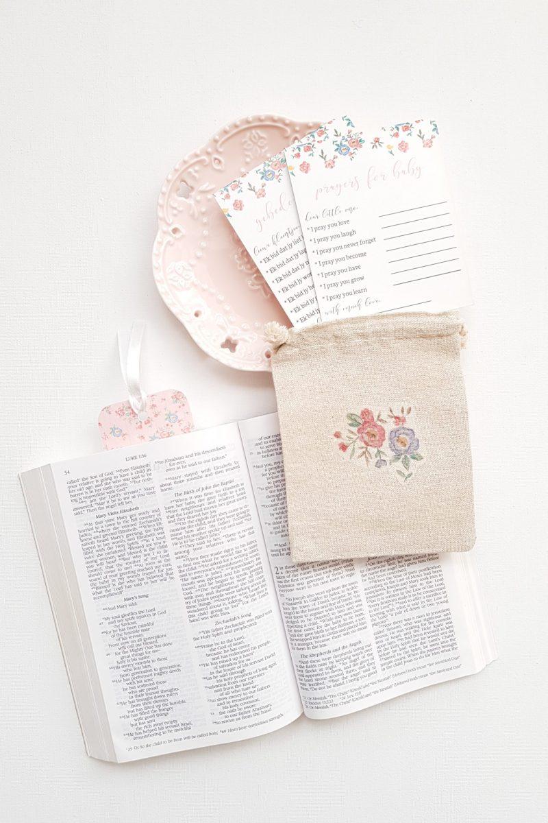 Baby Prayer Cards